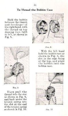 April 1930's - A Sew