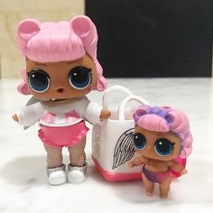 Angel and lil Angel LOL Surprise Dolls Doll Lil Sisters Party Ideas Gift Confetti Big Surprise Series Collect Dollhouse Accessories, Doll Accessories, Girls Nail Designs, Monster High, Doll Storage, Barbie Kitchen, Baby Alive Dolls, Baby Girl Toys, Toys