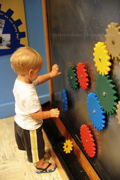 Check out the Children's Museum!  Love the Magnetic wall with all sorts of gears.