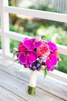 Orchid wedding bouquet!   Hunter Ryan Photo