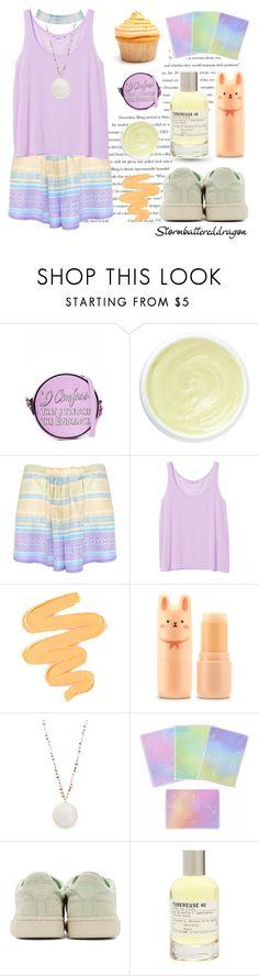 """""""Cupcake"""" by stormbattereddragon ❤ liked on Polyvore featuring Balenciaga, Olympia Le-Tan, Eve Lom, Lalesso, Monki, Sigma, Native Gem, Reebok, Le Labo and Charlotte Russe"""