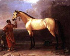 Barb Horse | Dun Barb (Horse and Arabian Groom) - John Wootton as art print or hand ...