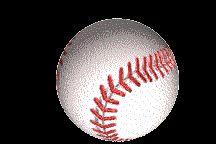 Imágenes de pelotas de béisbol en movimiento Gifs
