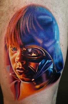 Star wars Inspired tattoo by Nikko Hurtado.