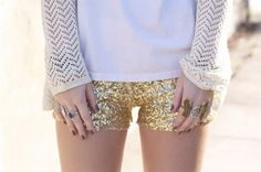 i would never have the nerve, but for chrissakes, all hail sparkle hot shorts.