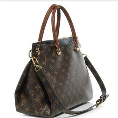 Louis Vuitton Pallas Louis Vuitton Pallas with black leather Louis Vuitton Bags Shoulder Bags