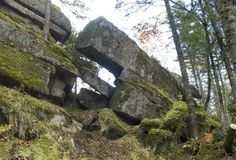 The most famous megaliths of Russia (50 photos) Large block megalith.