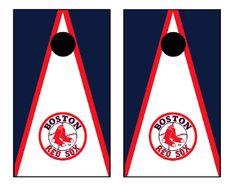 Boston Red Sox Cornhole Boards