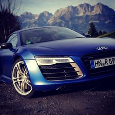 New Years Resolution - Drive an Audi R8