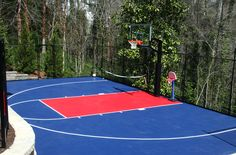 Outdoor Sports Tiles - Discount Outdoor Gym Tiles: Perfect flooring for practicing basketball or your sport of choice Backyard Basketball, Outdoor Basketball Court, Basketball Floor, Basketball Shoes, Basketball Tickets, Basketball Shooting, Soccer, Girls Basketball, Basketball Legends