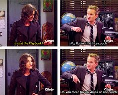 Barney & Robin :D How I Met Your Mother #himym