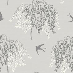 Willow Song Grey wallpaper by Arthouse
