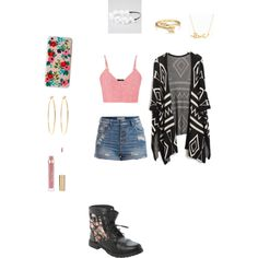 Untitled #74 by ms-g-jackson on Polyvore featuring polyvore, fashion, style, maurices, Pieces, Brooks Brothers, Minnie Grace, Bling Jewelry, Rifle Paper Co and Full Tilt