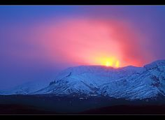 The First day of Eyjafjallajökull Eruption