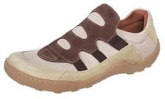 Footprints ''Tavira'' from Leather/Textile in Beige/Brown with a narrow insole FOOTPRINTS. $112.39
