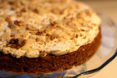 Najlepší mrkvový koláč (Best Carrot Cake ever) Best Carrot Cake, Something Sweet, Sweet Recipes, Delicious Desserts, Carrots, Cheesecake, Muffin, Food And Drink, Sweets