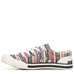3c6e1c6ad471 Rocket Dog Women s Jazzin Sneakers (Natural Multi) - 6.5 M Casual Sneakers