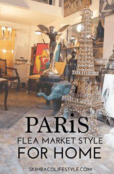 Paris Flea Market Style as Home Decorating Inspiration - Skimbaco Lifestyle Paris Decor, Paris Theme, Paris Rooms, Paris Flea Markets, French Christmas, Flea Market Style, Paris Chic, I Love Paris, Paris Hotels