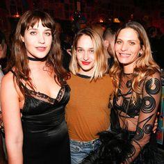 Lola Kirke, Jemima Kirke & Frankie Rayder at the Stella McCartney party