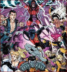 X-Men - Nick Bradshaw