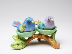 Appletree Design Flights of Fancy Bird Nest Salt and Pepper Set and Tealight Holder, 5-1/8 by 3-3/8-Inch by Appletree Design inc. Save 13 Off!. $26.04. Functional and decorative salt and pepper set. also functions as a tea light holder when the salt and pepper shakers aren't in the nests.. Hand wash only, do not put in dishwasher. Comes gift boxed, will make a great gift for yourself or someone special. Ceramic and dolamite material. constructed with quality and durability in mind…
