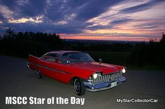 MSCC March 30 Star of the Day-no, it's not Christine. Read why: http://www.mystarcollectorcar.com/3-the-stars/40-model-stars/2654-mscc-southside-star-of-the-day.html #59Plymouth #Belvedere
