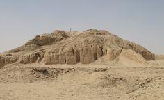 White Temple and ziggurrat - Uruk, Iraq - c. 3000 BCE - Ancient Middle East