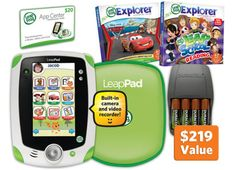 LeapPad™ Ultimate Bundle, green X 2 for both of my kids, so they aren't fighting over them