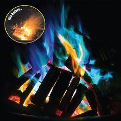 Magic Dust to create Coloured Flames - Mystical Fire