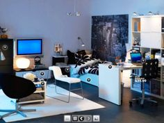 boys dorm room ideas   Awesome Great Facinating Boy's Room   Photos, Designs, Pictures
