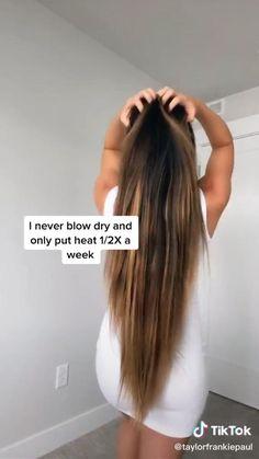 Hair Tips Video, Long Hair Tips, Hair Videos, How To Long Hair, Makeup Videos, Grow Long Hair, Grow Hair, Hair Streaks, Hair Highlights