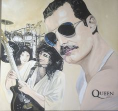 Queen - Painting by Grant Netherlands - contact Grant email: gnetherlands1@gmail.com Netherlands, Fine Art, Queen, Painting, The Nederlands, The Netherlands, Painting Art, Paintings, Holland