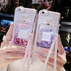 Bling perfume bottle Quicksand Dynamic Liquid Glitter Sand Silicone Cover Case For Huawei P8 Lite P9 plus V8 4C 4C mate 7 8 5X