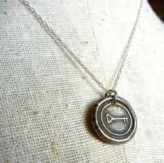 Vintage Style Wax Seal Family Tree Necklace  by eriadesignsjewelry, $35.00