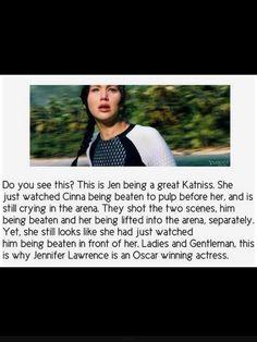 Amazing Jennifer Lawrence as Katniss Everdeen from The Hunger Games Hunger Games Memes, Hunger Games Cast, Hunger Games Fandom, Hunger Games Catching Fire, Hunger Games Trilogy, Katniss Everdeen, Katniss And Peeta, Jennifer Lawrence, Tribute Von Panem