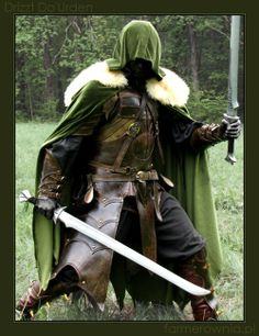 Love this armor!! ^O^ 3 Pic from: http://farmer-bootoshysa.deviantart.com/art/Drizzt-Do-Urden-more-164506058?q=sort%3Atime%20favby%3Athe-ninjaneerqo=91