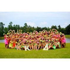 bid day 2011 Kappa Delta gamma mu chapter! I love my sisterssss