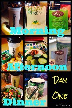 Day One Musings of 3-Day Refresh #3DayRefresh #Detox