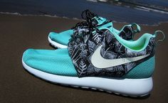 Nike Roshe Run Aloha Custom