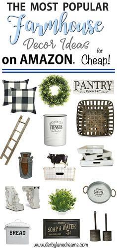 Farmhouse decor idea