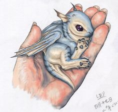 Baby Dragon << I think it's beautiful<<and It's so adorable!!!