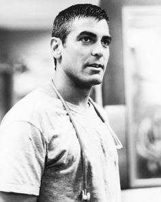 George Clooney in ER- swoon worthy, with age he just gets better