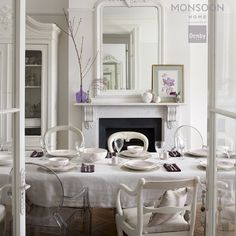 Eclectic, elegant, feminine and utterly glamorous for weddings and special occasions. Oversized Mirror, Palette, Feminine, Weddings, Elegant, Chair, Happy, Room, Furniture