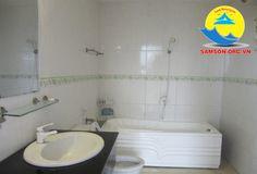 Phòng tắm tại Khách sạn Marino Sầm Sơn