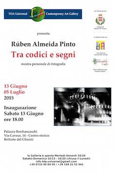 Mostra di Rúben Almeida Pinto dal 13 giugno al 5 luglio