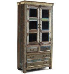 Shabby Chic Hutch, Shabby Chic Kitchen, Shabby Chic Homes, Shabby Chic Furniture, Shabby Chic Decor, Wood Furniture, Furniture Ideas, Country Kitchen, Primitive Furniture