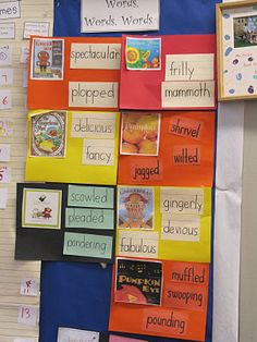 Wow Words! Each week selecting three words from a story and talking about what that word means and acting out the word. Vocabulary Instruction, Vocabulary Words, Teaching Vocabulary, Readers Workshop, Writing Workshop, Language Activities, Literacy Activities, Wow Words, Word Study