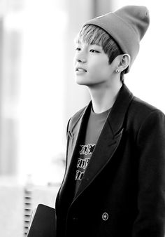 BTS V. How does that deep voice come from such a little thing.