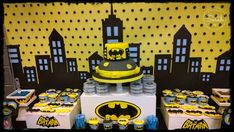 BATMAN Birthday Party Ideas | Photo 3 of 7