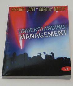 Understanding Management College Text Daft Business Economics Entrepeneur   #Textbook